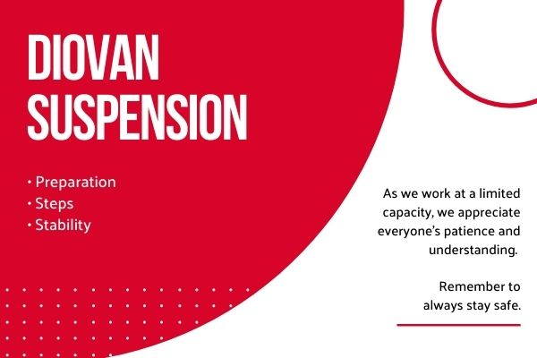 Valsartan 10MGML Preparation 1 - How to Prepare Diovan Suspension?